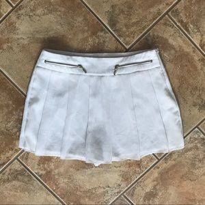 Zara While Front Pleat Skort